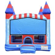 Blue Marble Castle Bounce House