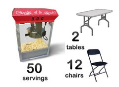 Popcorn 2 tables 12 chairs Bundle