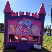 My little pony  pink castle bounce house
