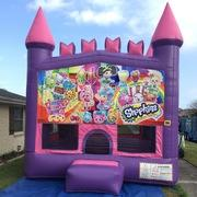 Shopkins Pink Castle bounce house