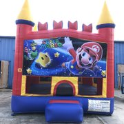 Mario Brothers Bounce House