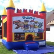 Paw Patrol Castle Bounce House