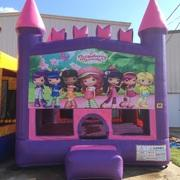 Strawberry Shortcake Pink Castle Bouncer
