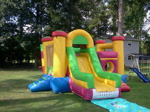 Tunnel Combo Bounce House