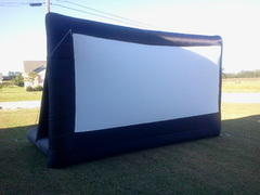 Inflatable Movie Package w/ projector and large Sound System