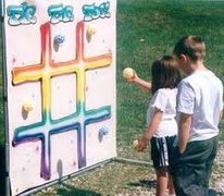 Tic Tac Toe Toss Carnival Game