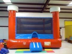 Red, White and Blue Large Bounce House
