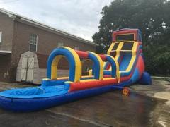 50ft Long Mr. Awesome Waterslide