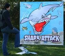 Shark Attack Carnival Game
