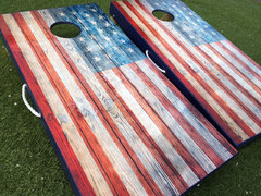 Corn Hole - American Flag