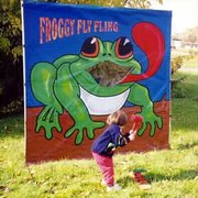 Froggy Fling Carnival Game