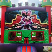 Minnie Mouse Castle