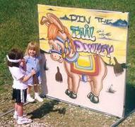 Pin the Tail on the Donkey Carnival Game