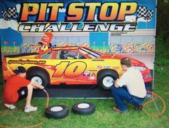 Pit stop Challenege Carnival game