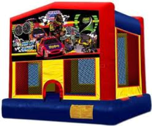 Stock Car Bounce House