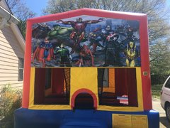 Super Heros Bounce House