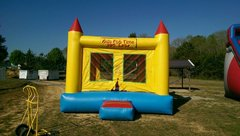Yellow Bounce House