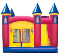 BOUNCY HOUSES  WITH SLIDE INSIDE