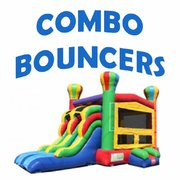 Bounce Houses  With Large Slide
