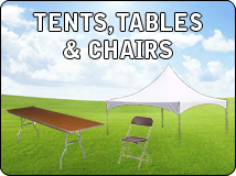 TENTS -TABLES-CHAIRS