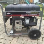 Generator with full tank of gas for all day
