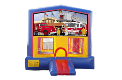 Fire Truck Bouncer