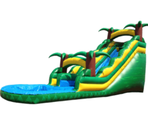 16' Tropical Waterslide
