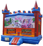 Rainbow Barbie Castle