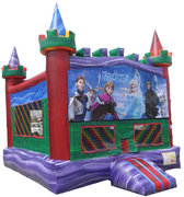 Rainbow Frozen Bouncer