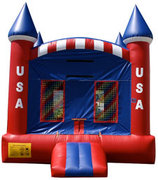 Patriotic Castle Bouncer