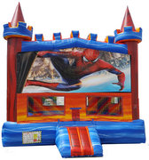 Rainbow Spiderman Bouncer