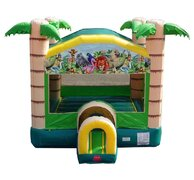 Tropical Paradise Bounce House (Dry Only)