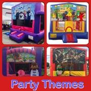 Themed Deluxe Bounce House