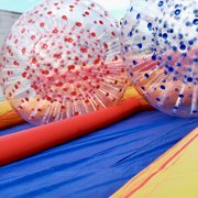 Zorb Balls With Track And Attendant 2Hr Rental