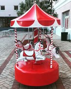 Kiddie Carousel - Red