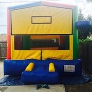 Deluxe Bounce House With Hoop