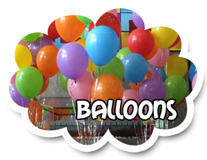 12 Balloons, Helium Filled