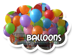 12 Helium Filled Balloons