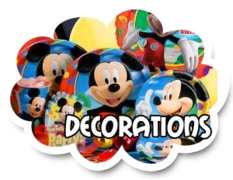 Party Pack - Decorations (6 Kids)