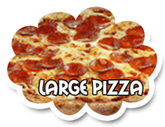 Pizza - Large