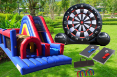 OBSTACLE COURSES & Interactive Games