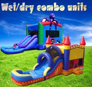 Wet/dry  Combo bouncehouse