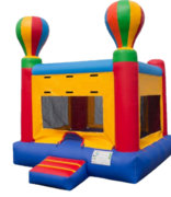 15x15 Hot air balloon bounce house