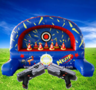 Inflatable Nerf Shootout Game