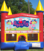 Peppa Pig bouncehouse