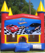 Hot wheels bounce house