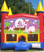Unicorn bouncer house