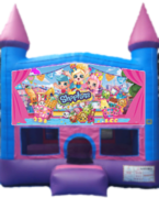 Shimmer and shine bounce house