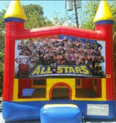 All Stars wrestling Bounce House