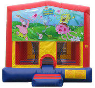 Sponge Bob and Friends Bounce House